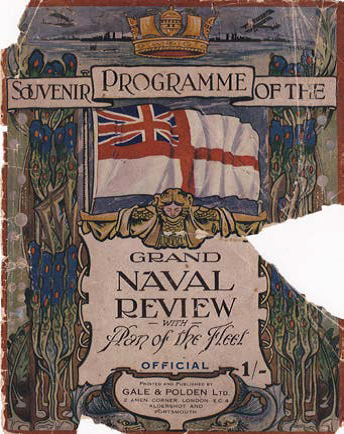 Naval review programme