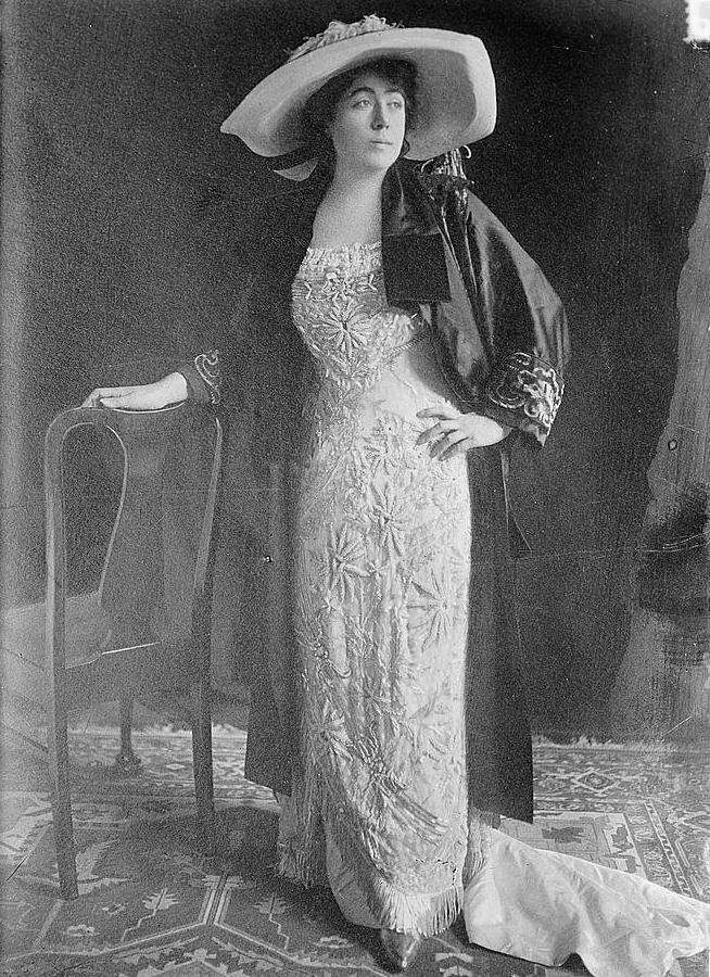 Margaret Brown standing